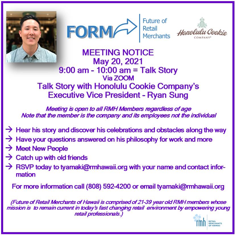 FORM Meeting Notice